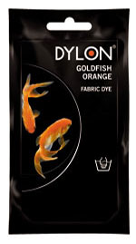 Goldfish Orange Hand Dye