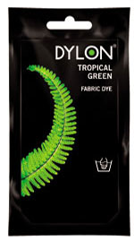 Tropical Green Hand Dye